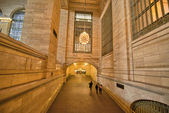 NEW YORK CITY - MAR 1: Interior view of New York Public Library — 图库照片