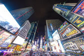 NEW YORK CITY - MAR 15: Times Square, featured with Broadway The — Stock Photo