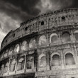 Wonderful view of Colosseum in all its magnificience - Autumn su — Stock Photo #24531771