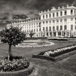 Schoenbrunn Castle and Garden in Summer, Vienna - Foto Stock