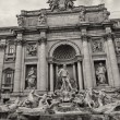 Stock Photo: Trevi Fountain in Rome, Autumn season