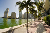 Detail of Chopin Plaza, Miami — Stock Photo
