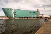AMSTERDAM, NETHERLANDS - APR 30: The Nemo Museum on April 30, 20 — Stock Photo