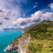 Stock Photo: Wonderful landscape of Cinque Terre Coast, Italy