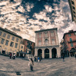 Piazza Garibaldi in Pisa — Stock Photo