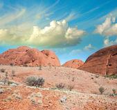 澳大利亚。北领地的红色岩石 — 图库照片