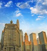 Harika chicago manzarası — Stok fotoğraf