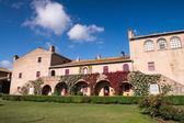 Beautiful medieval architecture of Bolgheri - Tuscany — Stock Photo
