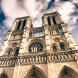 Colors of Notre Dame Cathedral in Paris, France — Stock Photo #25309609