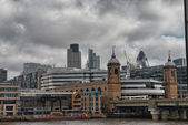 Wonderful view of London city skyline. — Stock Photo