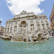 Stock Photo: Architectural Detail of Trevi Fountain in Rome