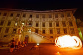 Luminaria in Pisa, Italy — Stock Photo