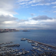 Amazing view of Gulf of Naples in Winter season — Stock Photo #25327871