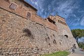 Beautiful view of San Gimignano in Spring, Tuscany, Italy — Stock Photo