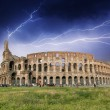 Stock Photo: Rome. Storm above Colosseum