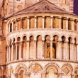 Duomo in Pisa by Nignt, Architectural Detail — Stock Photo
