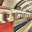 Постер, плакат: LONDON SEP 28: London Underground train station on September 2