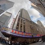 New York City buildings, upward view — Stock Photo