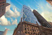 Buildings and Sky Colors of New York — Stock Photo