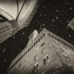 Palazzo Vecchio and Piazza della Signoria in Florence. Beautiful — Stock Photo #25709791