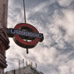 ������, ������: LONDON SEP 30: London Underground station symbol on September