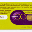 PARIS - DEC 6: Carte nominative transport, metro card, December — Stock Photo #26018311