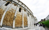 Architectural detail of Miracle Square in Pisa — Stock Photo
