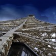 Stock Photo: Structure of Eiffel Tower