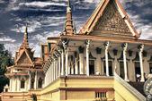 świątynia w pobliżu phnom penh, kambodża — Zdjęcie stockowe