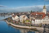 Beautiful medieval architecture in Friedrichshafen - Germany — Stock Photo