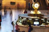 NEW YORK CITY - JUN 10: Grand Central main Concourse Clock on Ju — Stock Photo