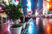 NEW YORK - JUN 14: Featured with Broadway Theaters and animated — Stockfoto