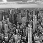 New York City. Wonderful panoramic aerial view of Manhattan Midt — Stock Photo #27236541