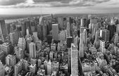 New York City. Wonderful panoramic aerial view of Manhattan Midt — Stock Photo