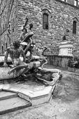 Piazza della Signoria, Florence — Stock Photo