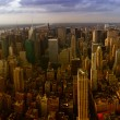 New York City. Wonderful panoramic aerial view of Manhattan  — Stock Photo