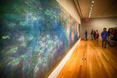 NEW YORK CITY - JUN 10: Interior of MoMA Museum — Stock Photo