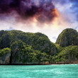 Stock Photo: Turquoise waters of beautiful Phi Phi Island - Thailand