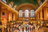 NEW YORK CITY - JUN 10: Interior of Grand Central Station — ストック写真