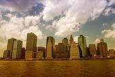 Lower Manhattan Buildings in New York City — Stock Photo
