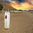Stock Photo: Road of Northern Territory