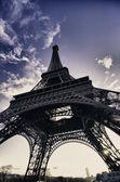 Eiffel Tower in December, Paris — Stock Photo
