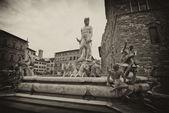Piazza della signoria, florencia — Foto de Stock