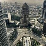 Architecture Detail of Kuala Lumpur, Malaysia — Stock Photo