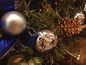 Christmas Balls, Italy — Stock Photo