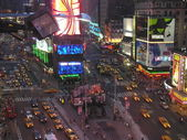 NEW YORK CITY - SEP 29: Lights and advertisements of Times Squar — Stock Photo