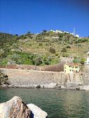 Beautiful scenario of Cinque Terre in spring season, Italy — Stock Photo