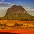 Mount Tibrogargan. Beautiful colors of Glasshouse Mountains Park — Stock Photo #29018469