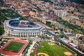 NEW YORK CITY - JUN 14: Yankee Stadium is a stadium located in T — Stock Photo