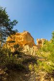 Colorado Provencal near Rustrel, Vaucluse, Provence - France — Stock Photo